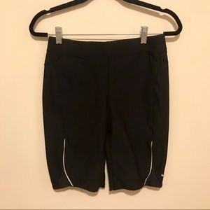 Nike Black Dri-Fit Shorts with Back Pocket - Small